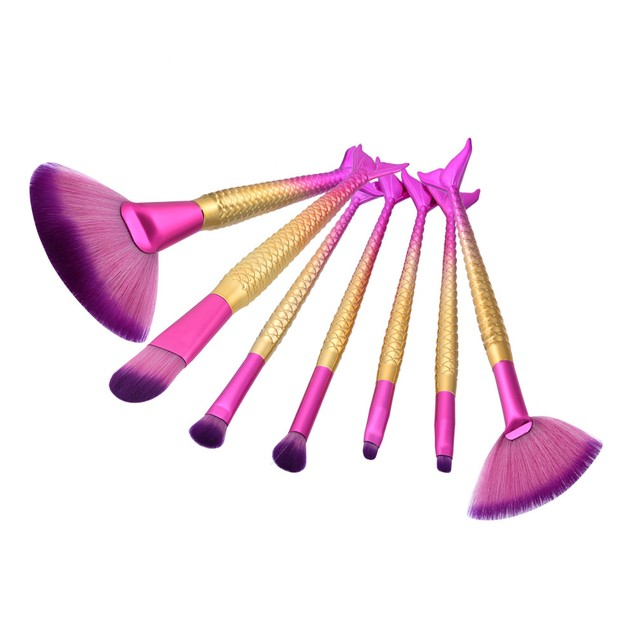 7PCS Make up Brushes Set Makeup Foundation Powder Blusher Face Brush 196