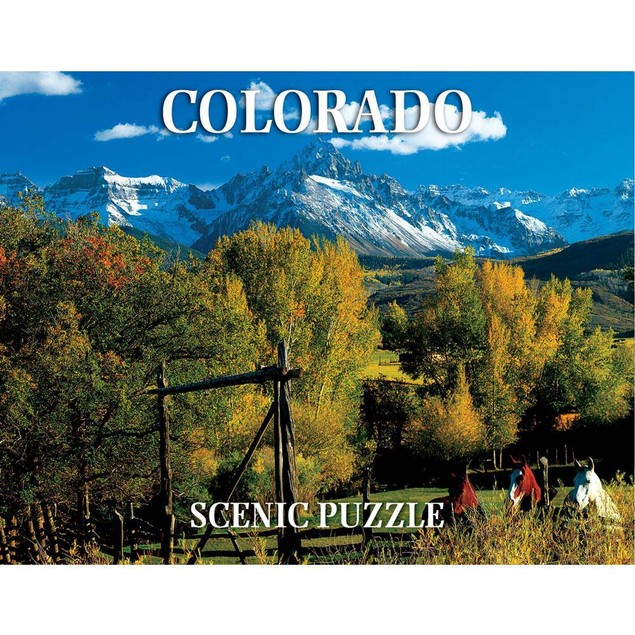Colorado Scenic 300 Piece Puzzle, Colorado by Creative Arts Publishing