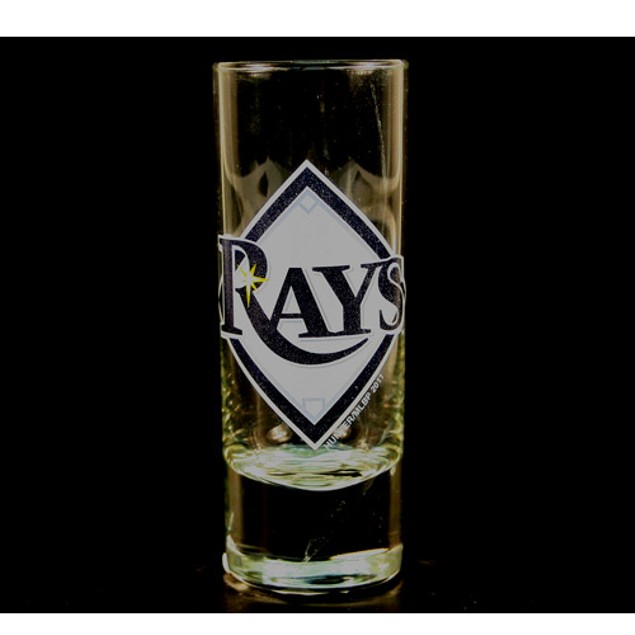 "Tampa Bay Rays MLB ""Hype"" Tall Shot Glass"