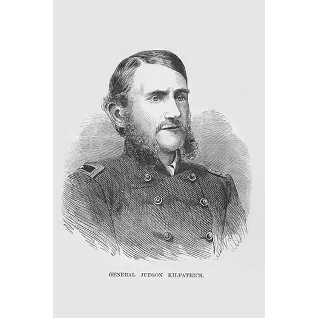 General John Kilpatrick.  High quality vintage art reproduction by Buyenlar