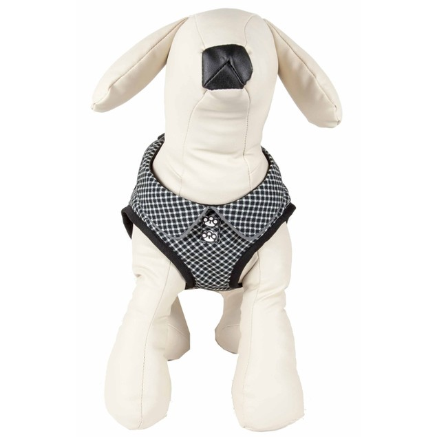 Pet Life 'Checkerwag' Checkered Buttoned Reversible Adjustable Dog Harness