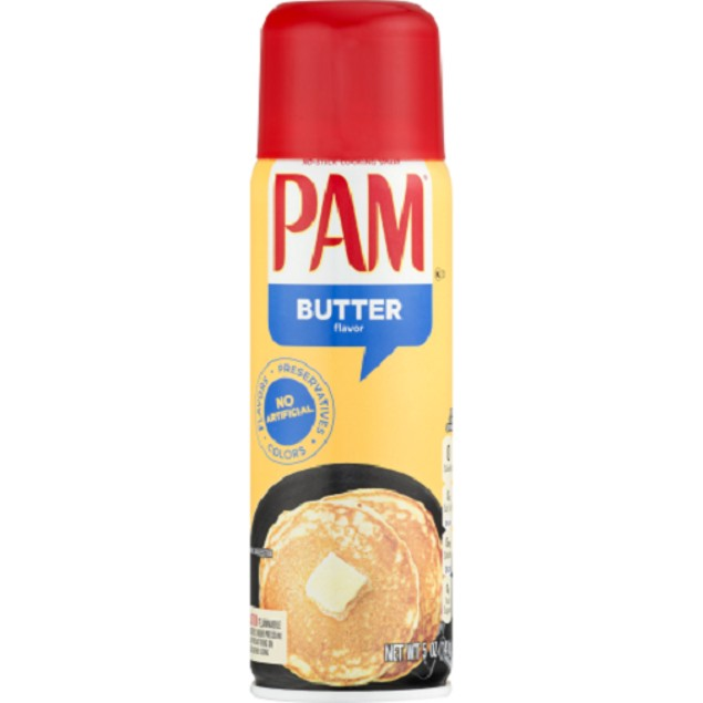 Pam No Stick Cooking Butter Spray