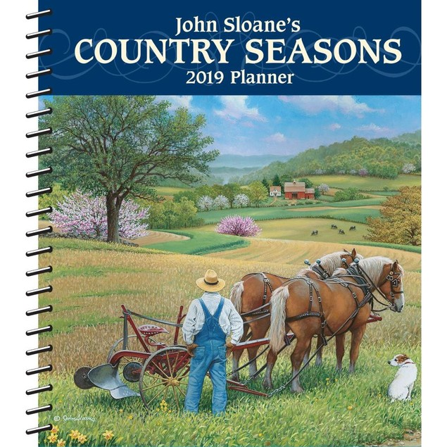 Country Seasons Planner, More Folk Art by Calendars