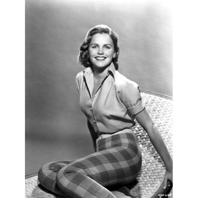 Lee Remick Seated in Classic Poster