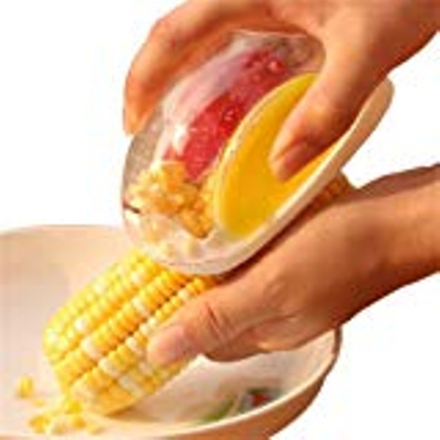 Corn Stripper for Cutting Kernels Stainless Steel Blade 2 Pc
