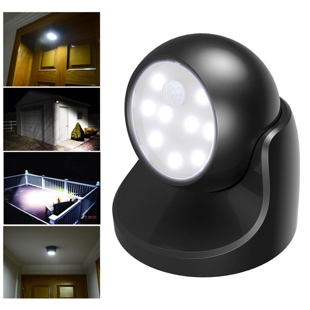 Motion Activated Cordless Sensor LED Light Indoor Outdoor Garden Patio Shed