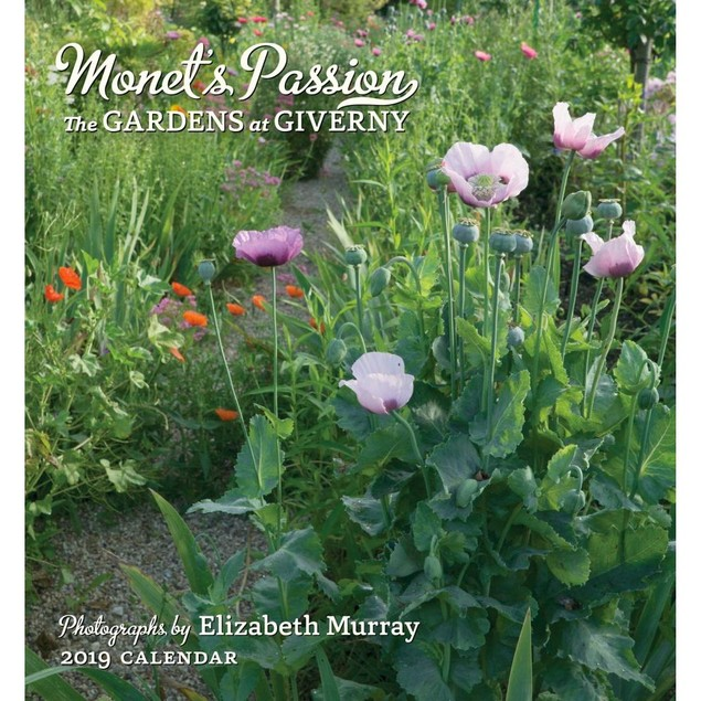 Monets Passion Mini Wall Calendar, Gardens by Calendars