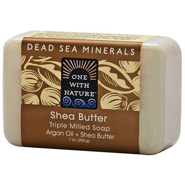 One with Nature Dead Sea Minerals Shea Butter Soap Bar
