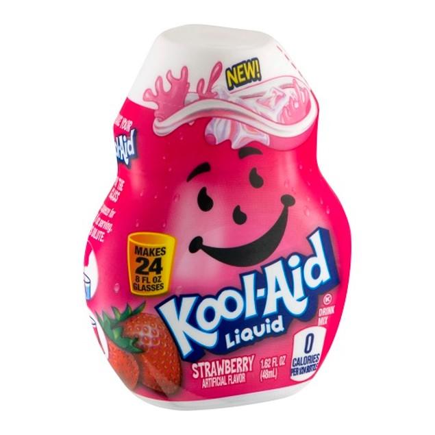 Kool-Aid Strawberry Flavor Enhancer Liquid Drink Mix