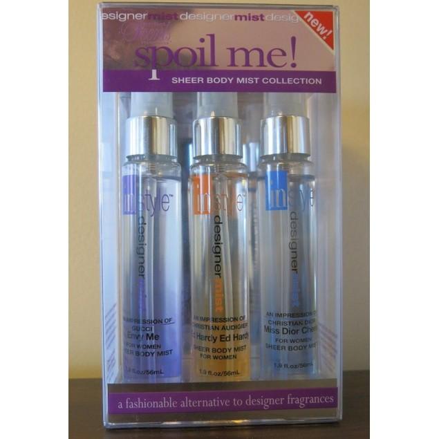 Mist Spoil Me Fragrance Kit Sheer Body Mist For Women 1.9