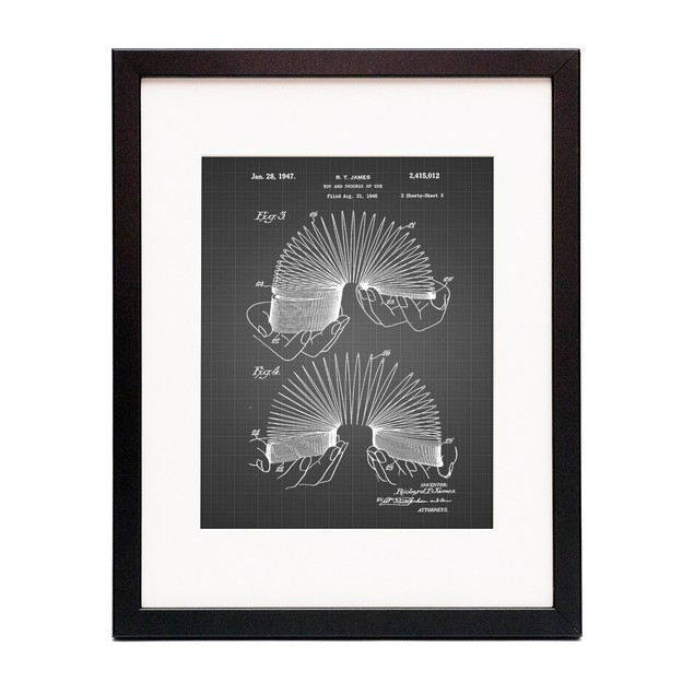 Slinky Toy Patent Poster