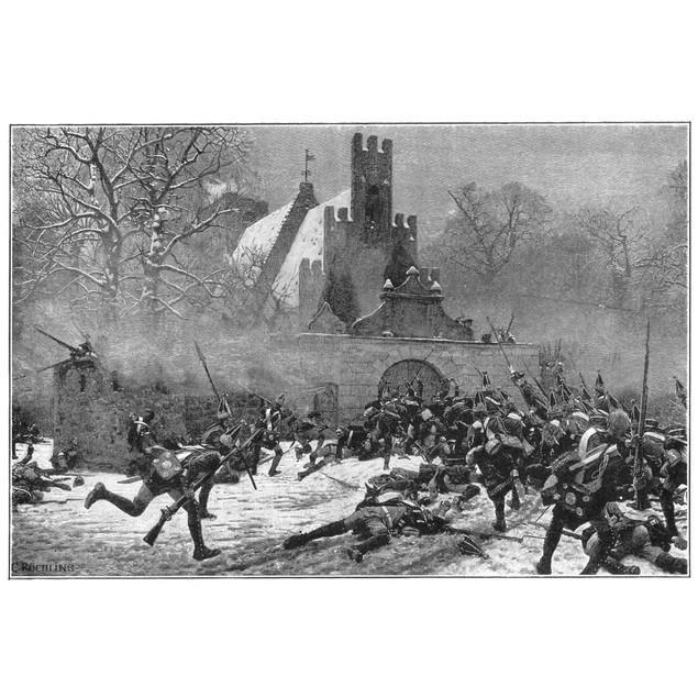 Seven Years' War (1756-63)./Nthe Battle Of Leuthen, 7 December 1757. Line E