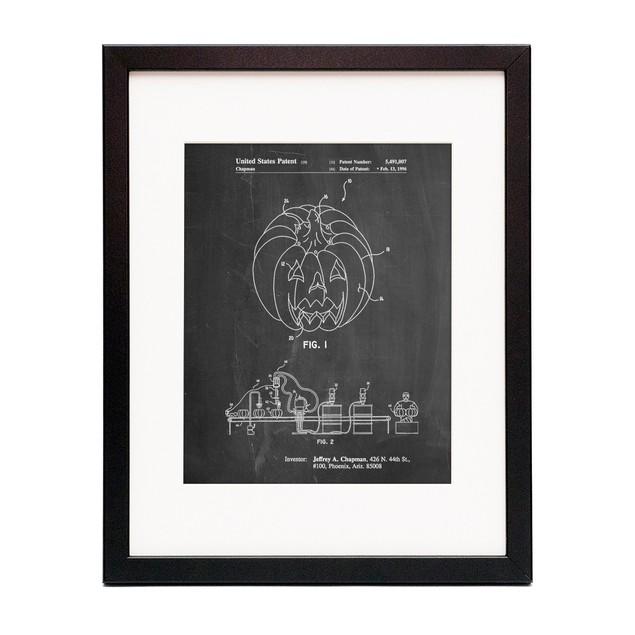 Pumpkin Patent Poster
