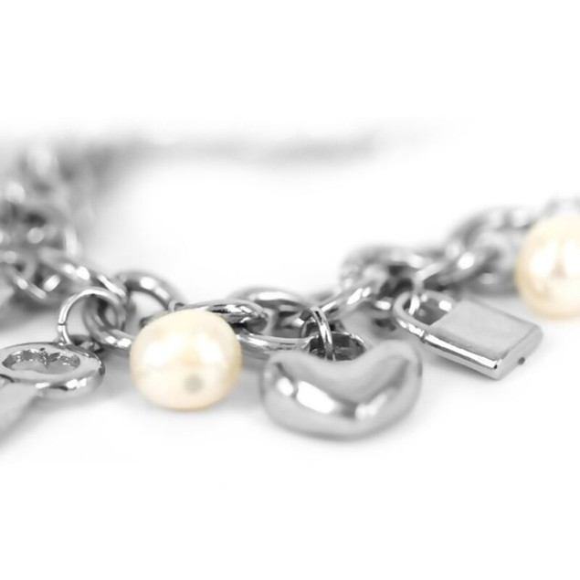 Eternal Love Collection Baroque Pearl Charm Bracelets