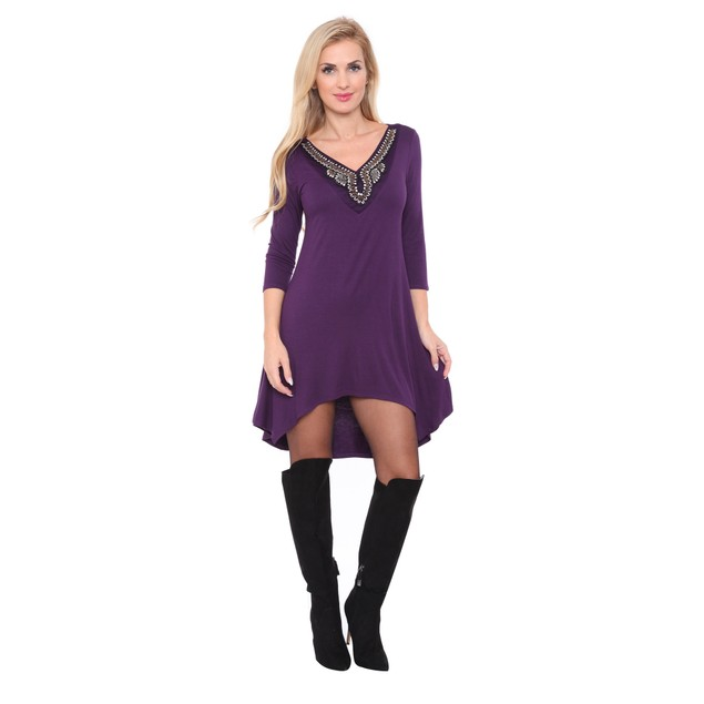 Tonya Tunic Top - 7 Colors - Extended Sizes