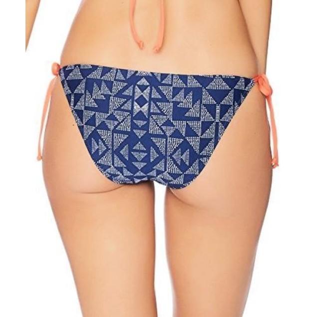 Splendid Women's Deckhouse Geo Tie Side Bikini Bottom SIZE LARGE