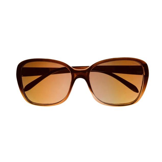 Esprit Sunglass  Womens Brown Plastic Rectangle Sunglass ET19450. 535