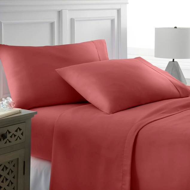Soft Essentials Superior Bamboo Comfort 4 Piece Bed Sheet Set