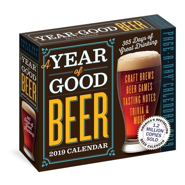 Beer Desk Calendar, Wine, Beer & Spirits by Calendars