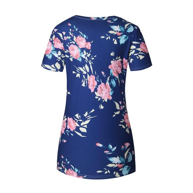 Floral Short Sleeve Tee