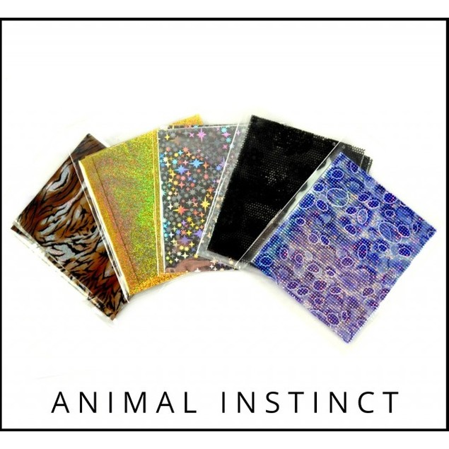 10 Sheets of NailFash Foil Nail Art