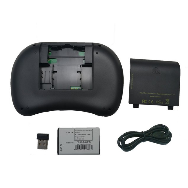 2.4GHz Wireless RC Keyboard with Touchpad
