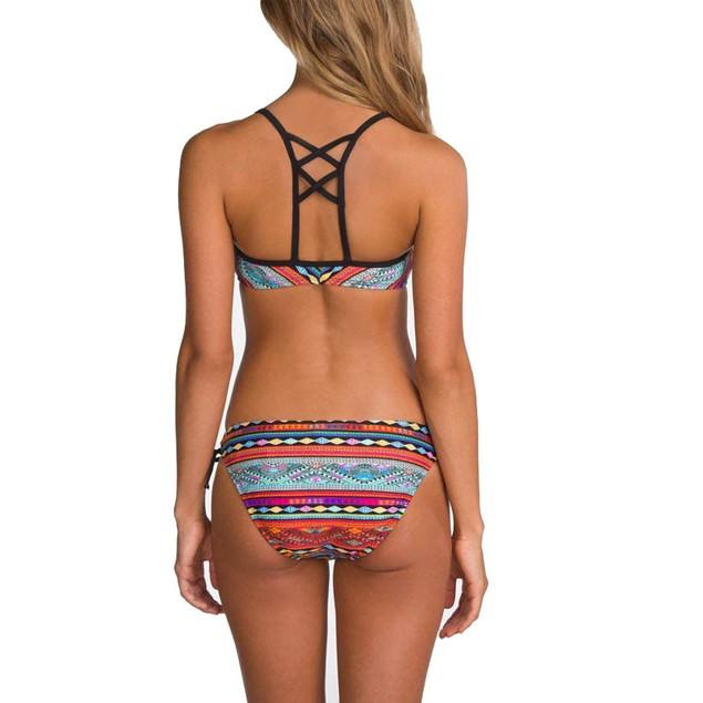 Women Bikini Set Swimwear Push-Up Bra Padded Swimsuit Beachwear
