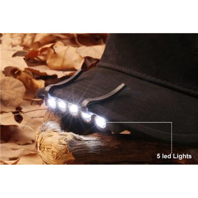 Under Brim LED Hat Light