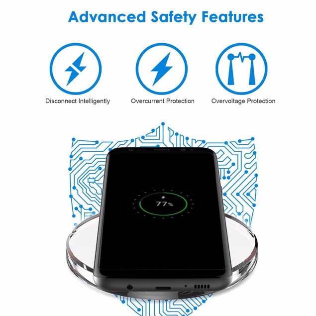 Phantom Wireless Charger for iPhones & Android