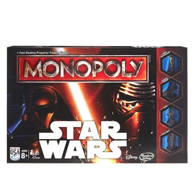 Star Wars Monopoly Board Game, More Pop Culture by Hasbro