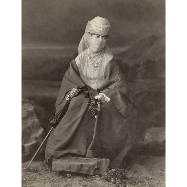 Turkey: Woman, C1890. /Nportrait Of A Turkish Woman. Photograph By The Abdu