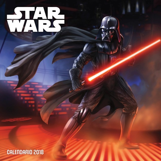 Star Wars Saga 2018 Collector's Edition Calendar