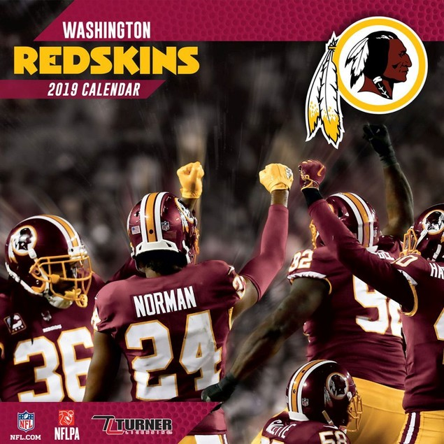 NFL Washington Redskins Mini Calendar, Washington Redskins by Turner Licens