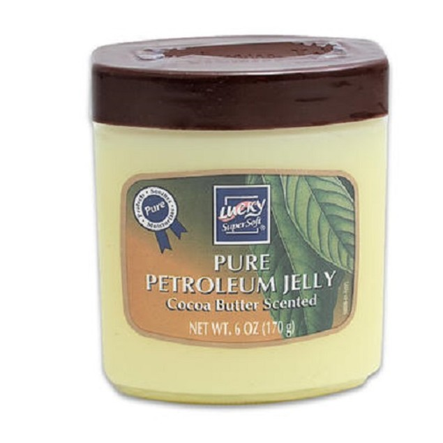 Lucky Super Soft Pure Petroleum Jelly Cocoa Butter Scented
