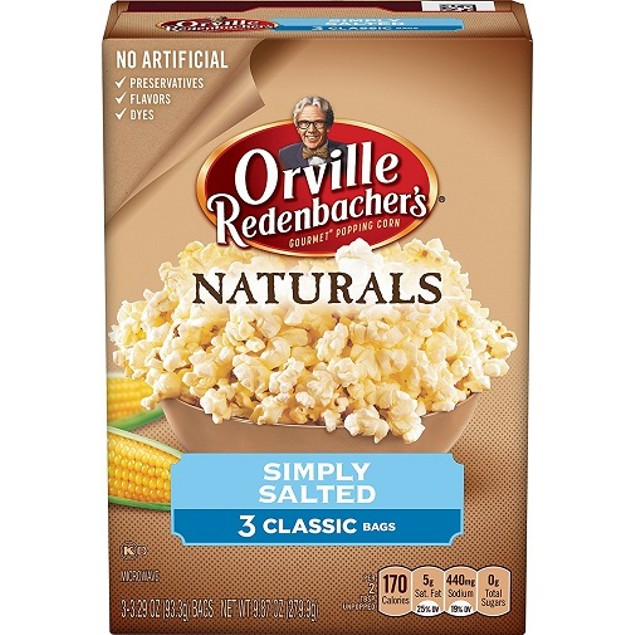 Orville Redenbacher's Naturals Simply Salted Microwave Popcorn