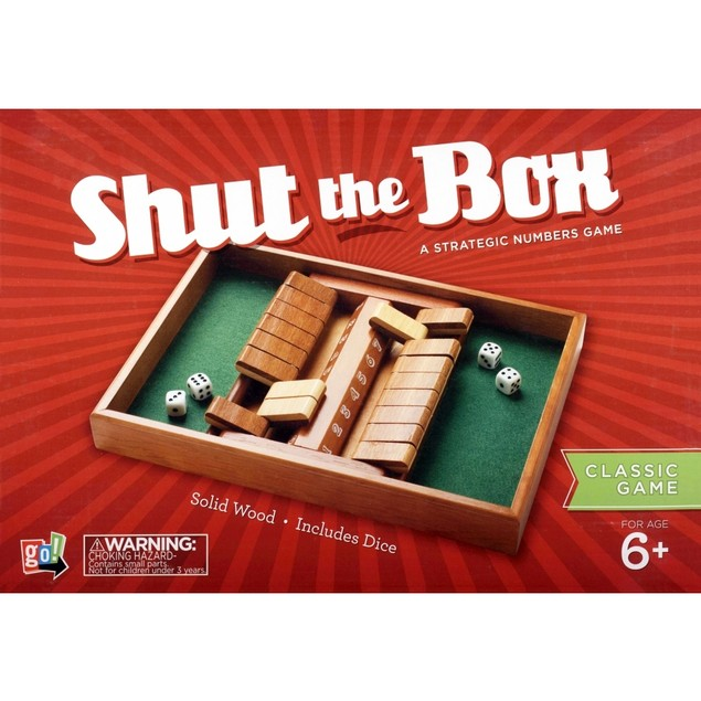 Shut the Box Game, Dice Games by Go! Games