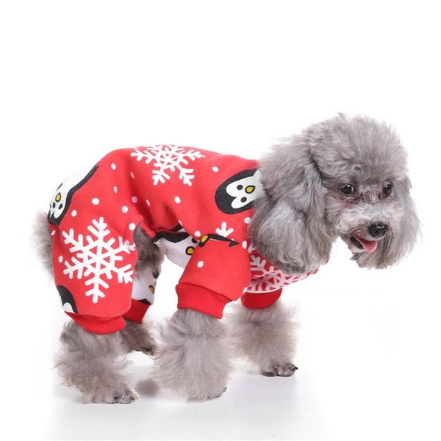 Christmas Clothing Pet Costume