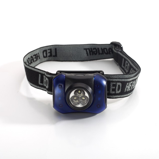 3-Pack Outdoor Nation Hands-Free 7-LED Headlamp