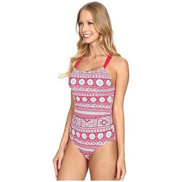 Carve Designs Women's Avalon Full Piece Parisio Swimsuit SIZE LARGE