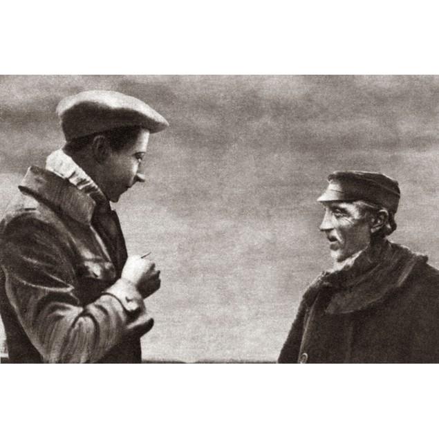 World War I: The Ex-Kaiser. /Ngerman Ex-Kaiser Friedrich Wilhelm Speaking T
