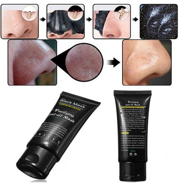 Black Mud Cleansing Face Mask Remove Blackhead Facial Mask