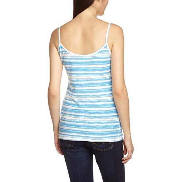 Patagonia Women's Necessity Cami Overseas Stripe/Skipper Blue Small