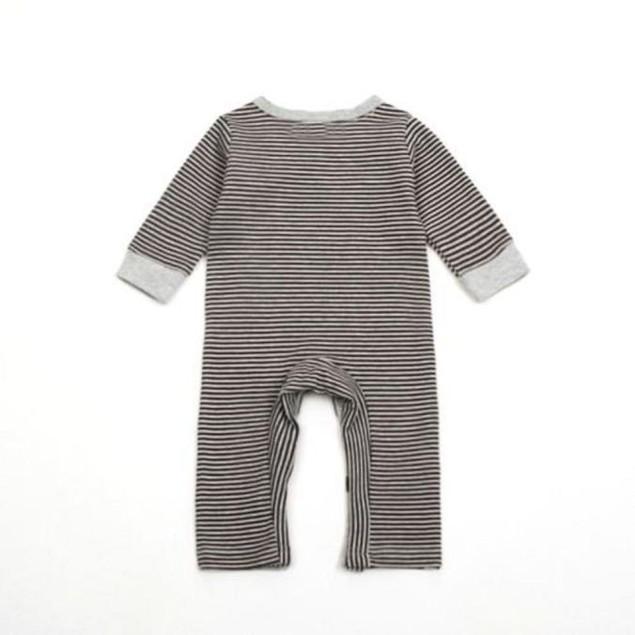 Newborn Baby Boys Girls Romper+Hat Jumpsuit Bodysuit Clothes Outfit