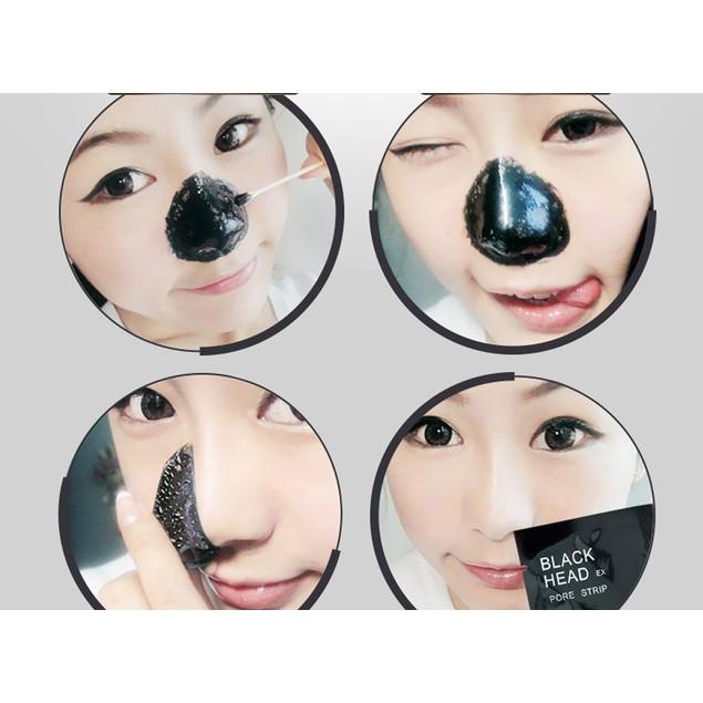10pcs Blackhead Remover Black Mud Cleansing Face Mask