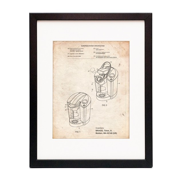 Instant Coffee Patent Poster