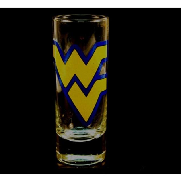 "West Virginia Mountaineers NCAA ""Hype"" Tall Shot Glass"