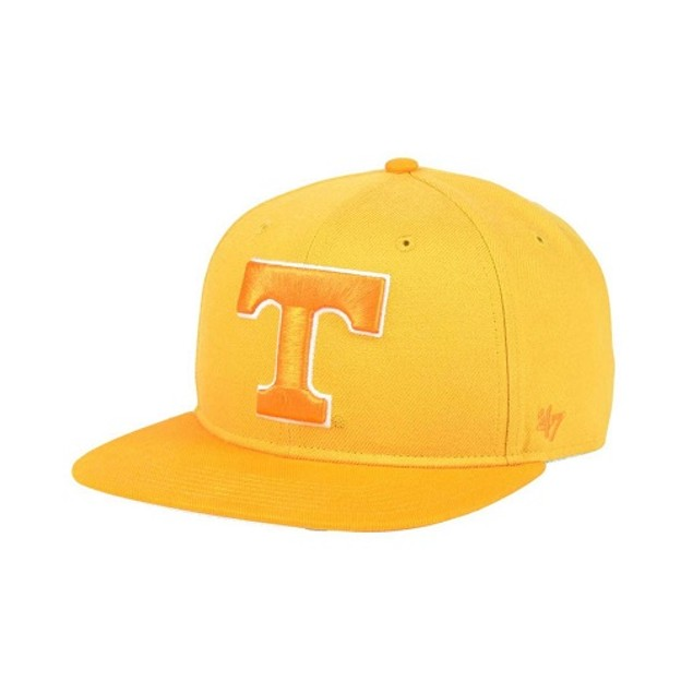 "Tennessee Volunteers NCAA 47 Brand ""Sure Shot"" Flat Bill Snapback Hat"