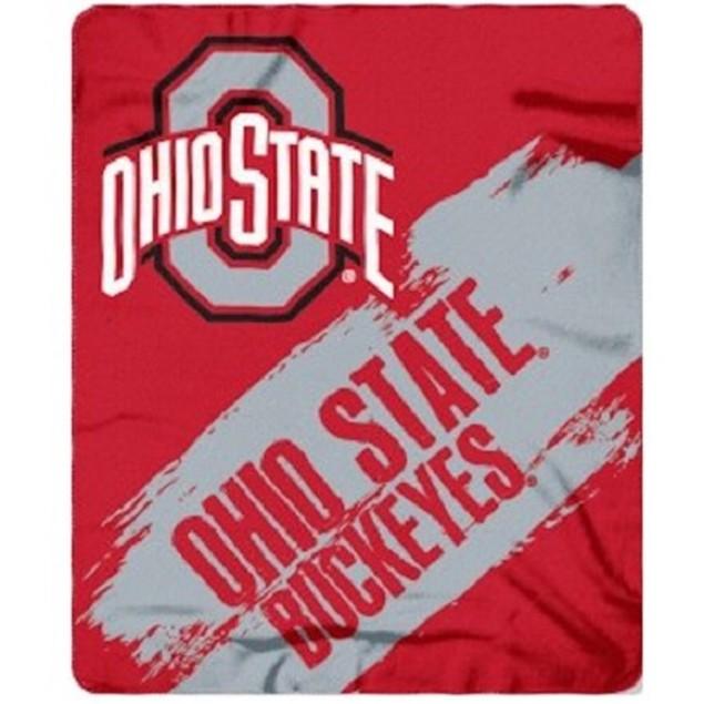 Ohio State Buckeyes NCAA Northwest Fleece Throw