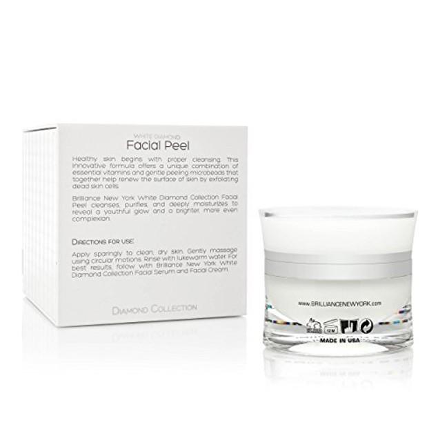 Brilliance New York - White Diamond Facial Peel Gel, 1.69 fl oz (50 ml)