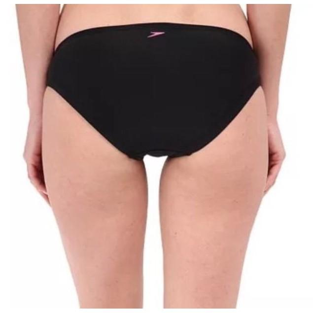 Speedo Women's Active Solid Hipster Bikini Bottom SIZE MEDIUM